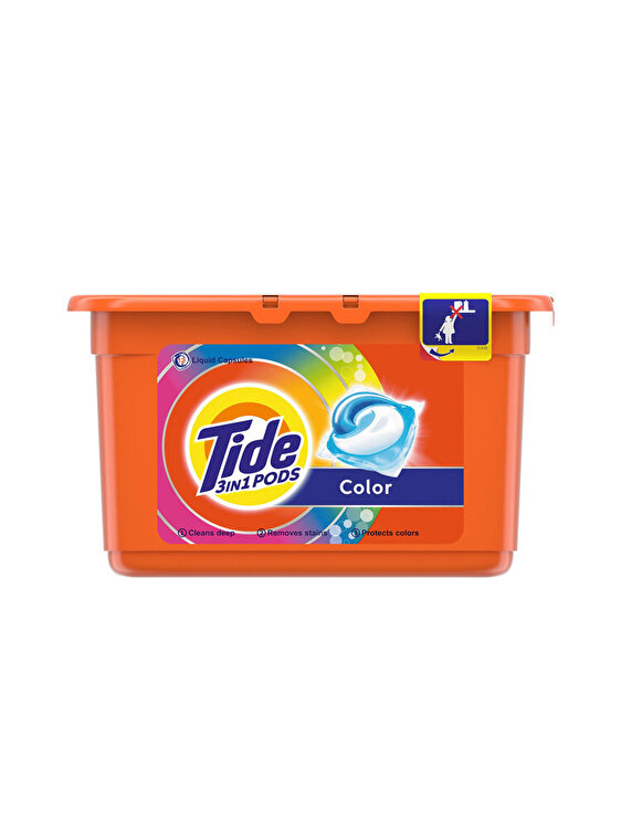 Detergent capsule Tide 3in1 PODs Color 12 buc, 12 spalari de la TIDE