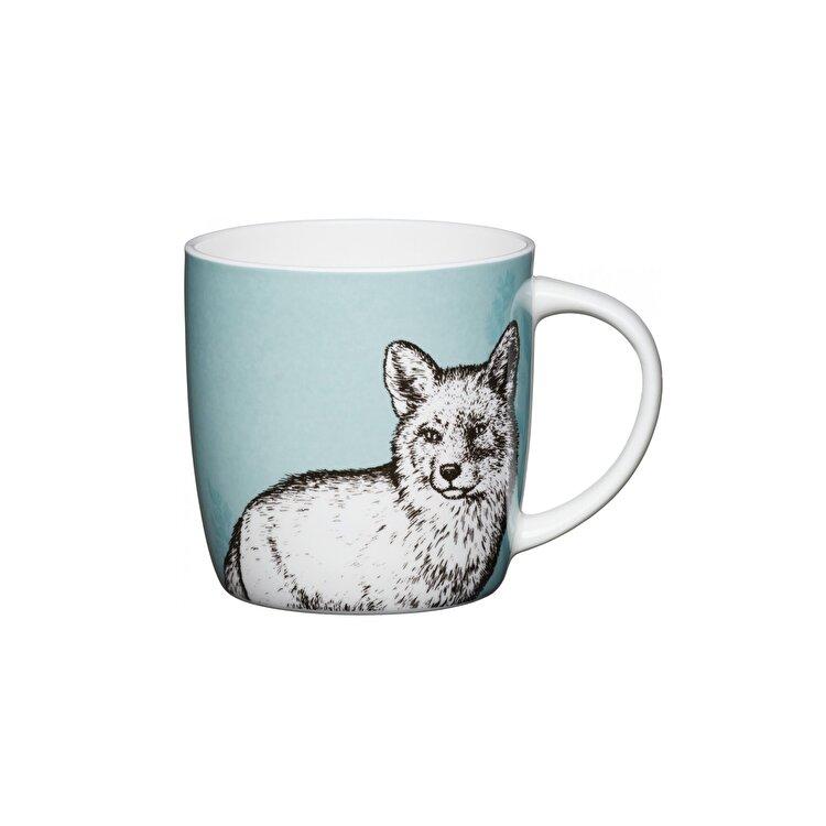 "Cana ""fox"", Kitchen Craft, 425 ml, KCMBAR141, portelan, Multicolor de la Kitchen Craft"