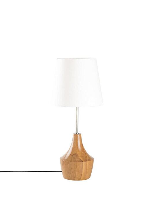 Veioza, Opviq, E27, 53 cm, 892OPV1118, lemn, Maro de la Opviq