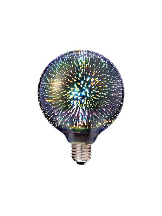 Bec LED COB, V-TAC, 2706, E27, 3W, 3000K, Multicolor de la V-TAC