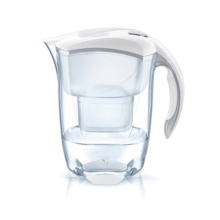 Cana filtranta Elemaris Cool, Brita, 2.4 l, MAXTRA, BR1026428, plastic, Alb de la Brita