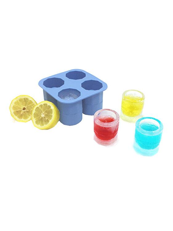 Forma cuburi de gheata, Hendi, 12.2 x 12.2 x 6 cm, 679067, silicon, Albastru de la Hendi