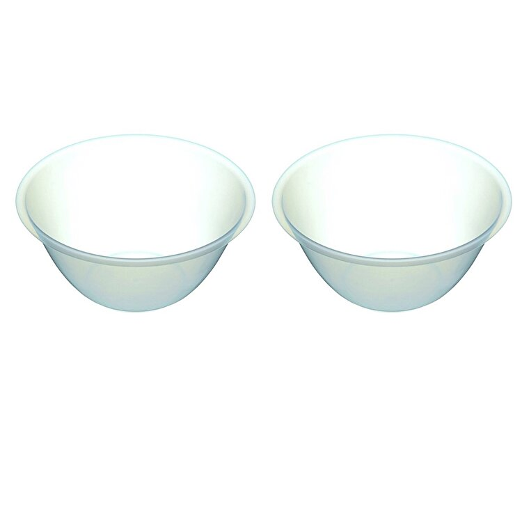 Set 2 boluri mixare, Kitchen Craft, 22.5 cm/ 2L, KCBOWLPLPK2, plastic, Incolor de la Kitchen Craft