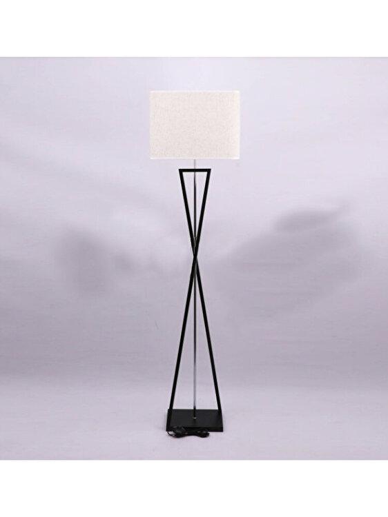 Lampa de podea, V-TAC, 40401, E27, 60W, Negru