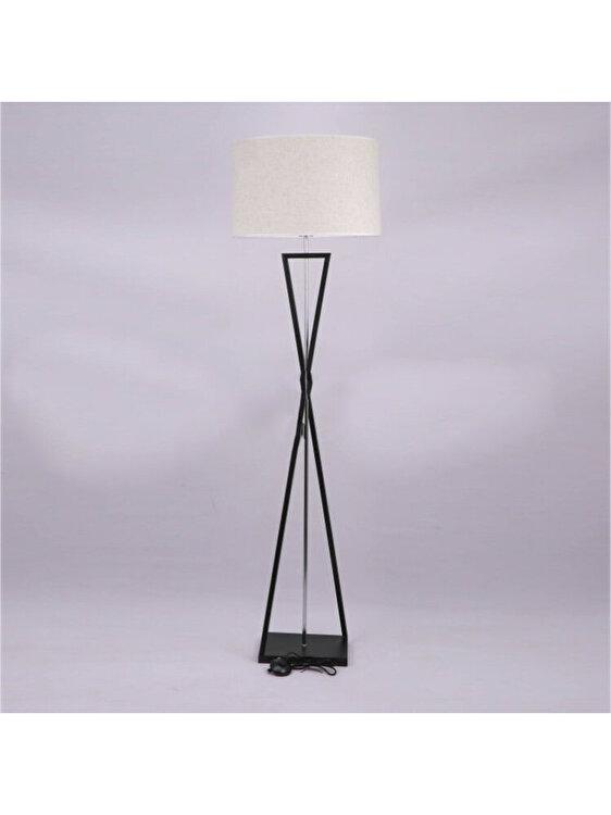 Lampa de podea, V-TAC, 40411, E27, 60W, Negru de la V-TAC