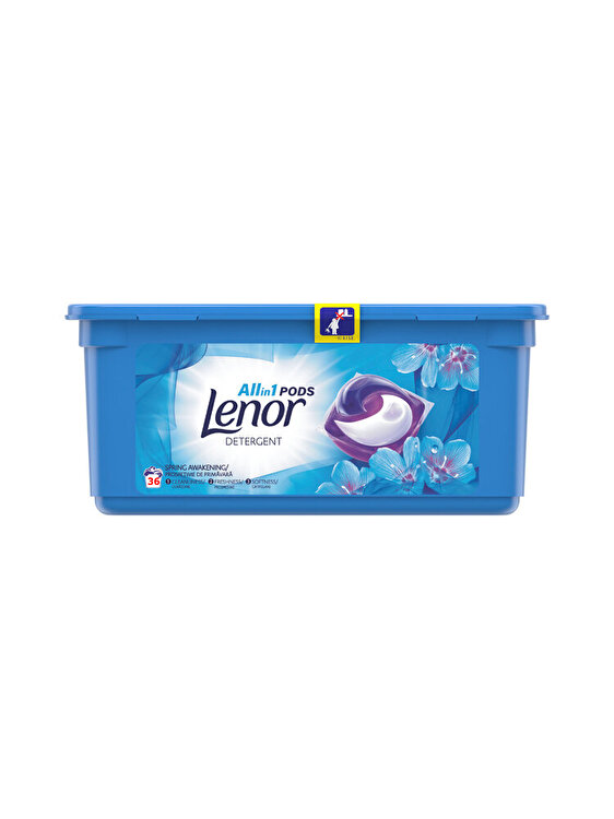 Detergent capsule Lenor Spring Awakening 36 x 26ml, 36 spalari