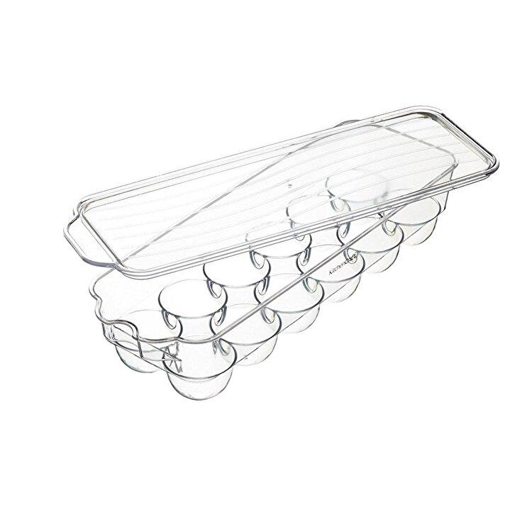 Recipient plastic oua, Kitchen Craft, 32.5 x 11.5 cm, KCFSTORE12, plastic, Incolor de la Kitchen Craft