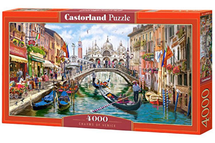 Puzzle Venetia, 4000 piese de la Castorland
