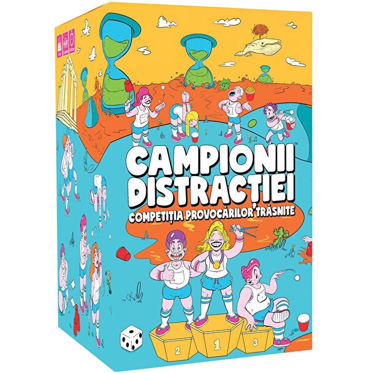Joc Campionii Distractiei (RO) de la Gutter Games