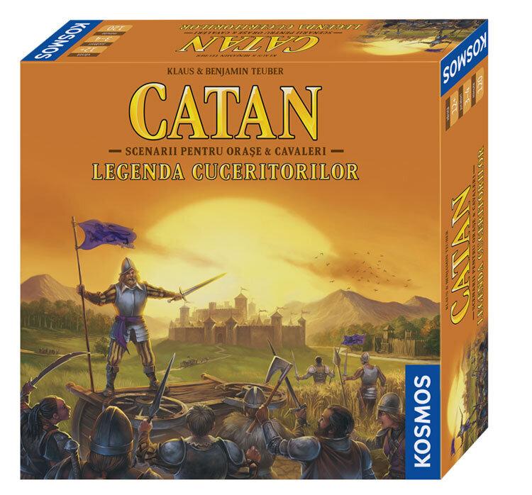 Catan – extensie Legenda Cuceritorilor de la Kosmos