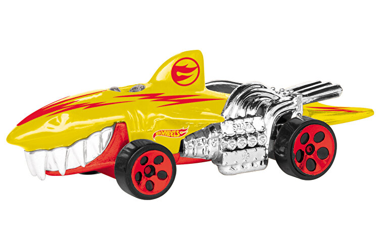 Masinuta cu lumini si sunete Hot Wheels, Sharkruiser galben de la HOT WHEELS