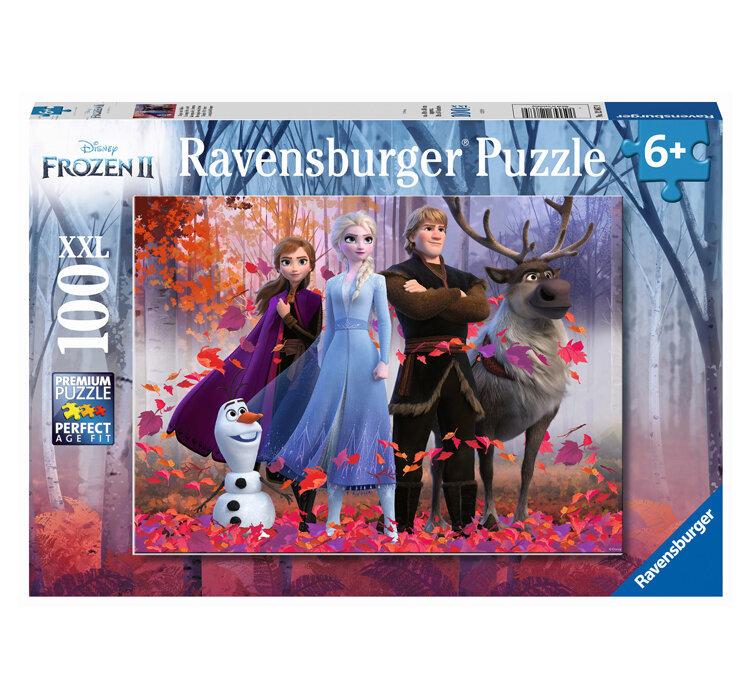 Puzzle Ravensburger Frozen II, 100 piese de la Ravensburger