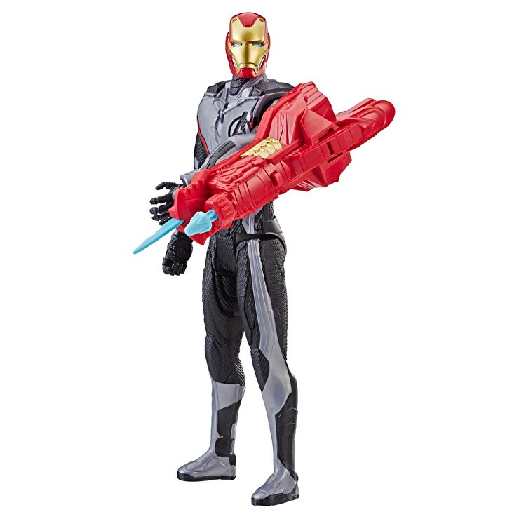 Figurina Titan Hero Power FX Iron Man, 30 cm de la Marvel