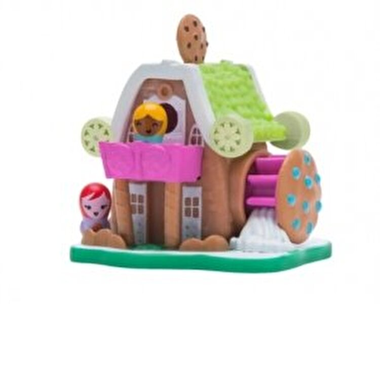 Set figurine si casuta Nanables, Milk Cookie Mill Sweetness Town de la Nanables