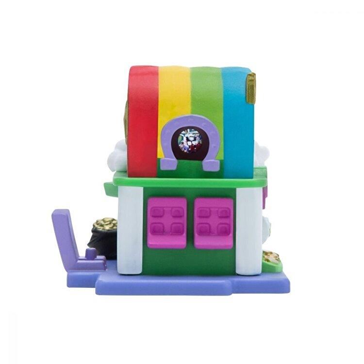 Set figurine si casuta Nanables, Make it Rainbow Arcade Rainbow Way de la Nanables