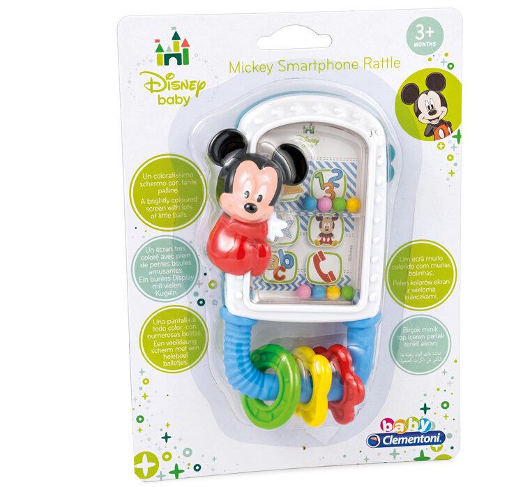 Jucarie zornaitoare pentru bebelusi Mickey Mouse, Baby Clementoni de la Clementoni