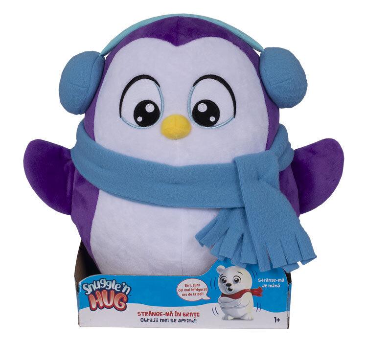 Jucarie de plus interactiva Snuggle and Hug , Pinguin