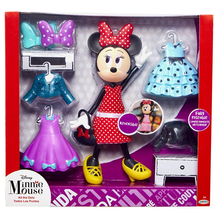 """Papusa Minnie Mouse- Set """"All the Dots"""" de la MINNIE MOUSE"""