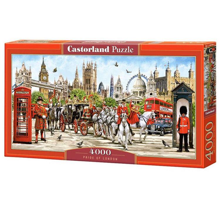 Puzzle Mandria Londrei, 4000 piese de la Castorland