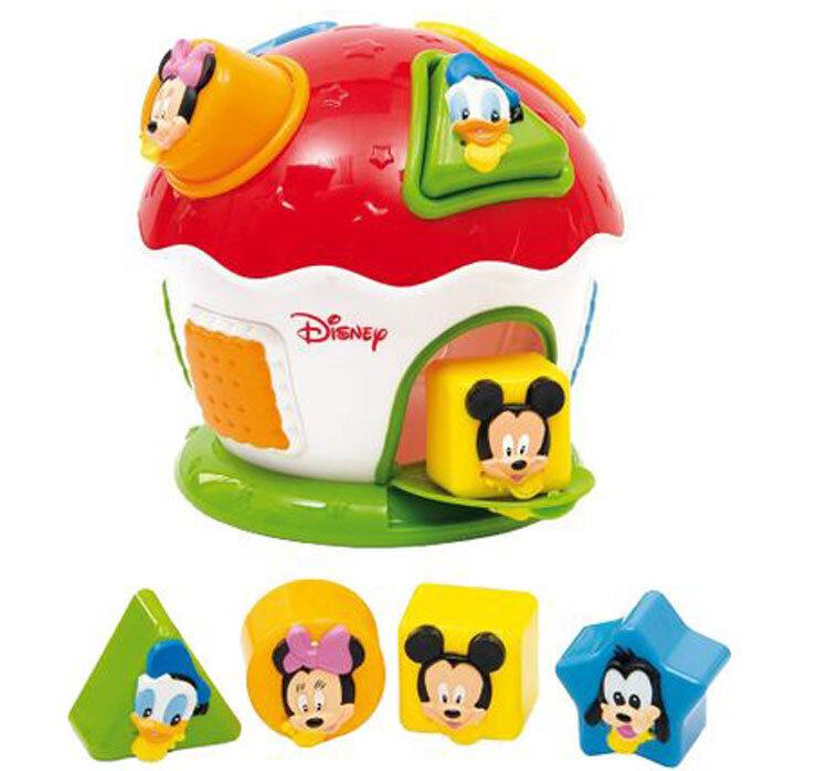 Jucarie de sortat forme Clementoni, Mickey si prietenii lui de la Clementoni