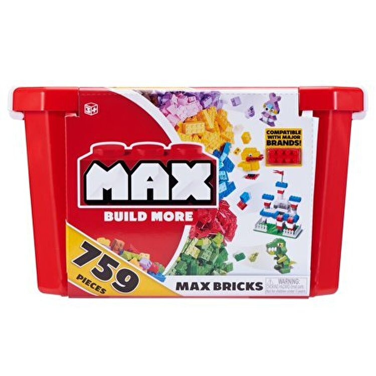 Set de constructie Max Build, 759 piese de la Max Build