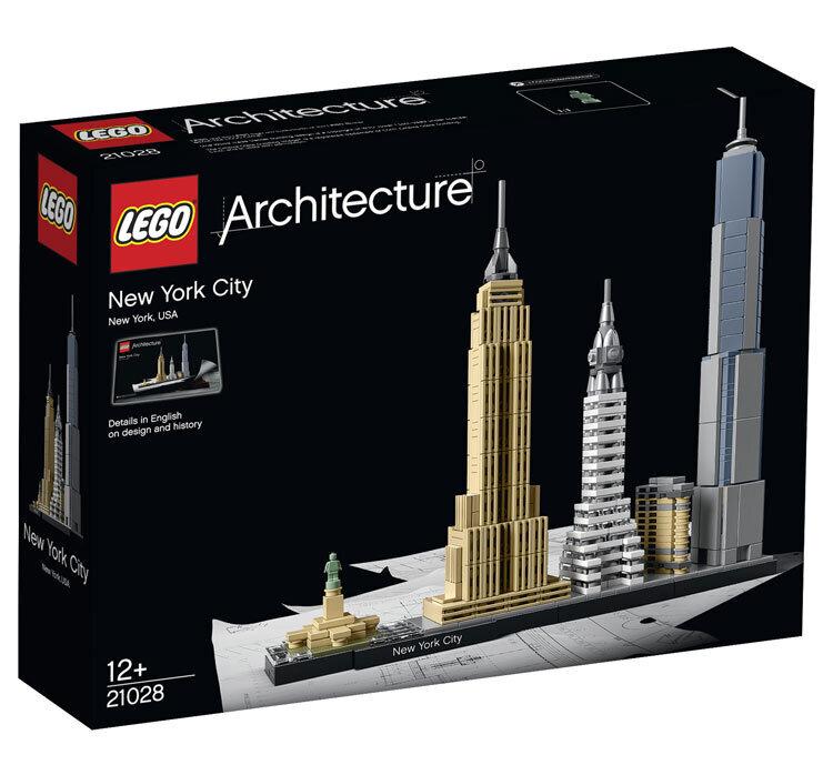 LEGO Architecture, New York 21028 de la LEGO