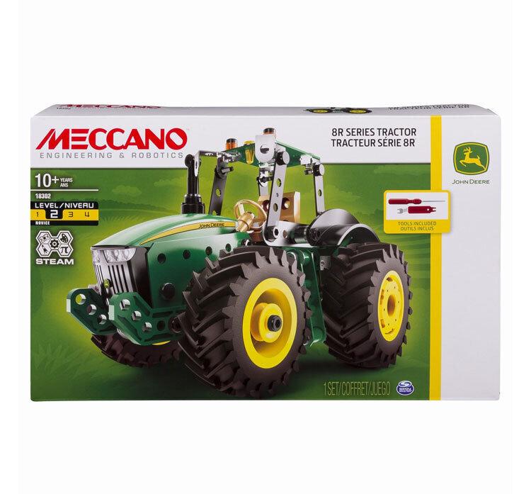Meccano Tractor, John Deere de la Meccano