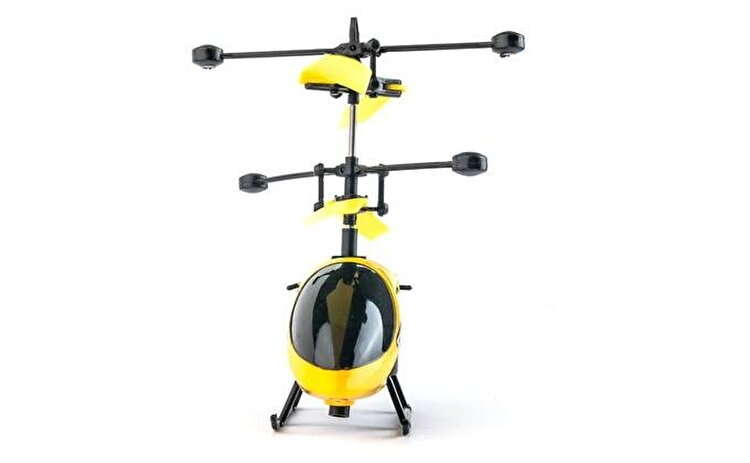 Elicopter NincoAir Thor controlat prin pozitia mainii de la Ninco