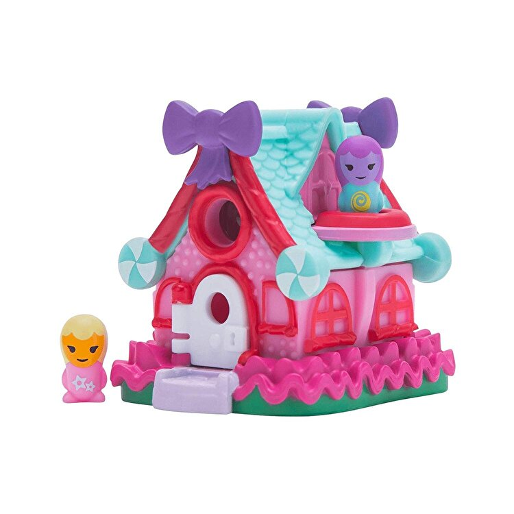 Set figurine si casuta Nanables, LolliPop Stars Dance Studio Sweetness Town de la Nanables