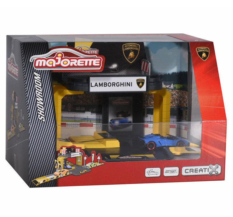 Set de joaca Majorette – Lamborghini Showroom de la Majorette