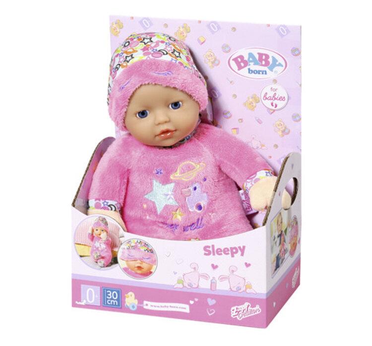 Papusa bebelus Zapf Baby Born, Prieten de somn, 30 cm de la ZAPF