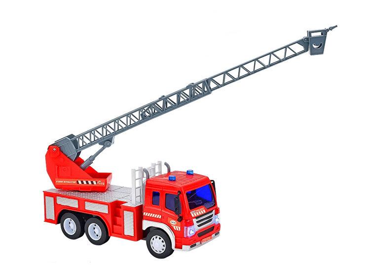 Masina de pompieri cu scara, pentru copii, Globo Wtoy cu sunete si lumini de la GLOBO