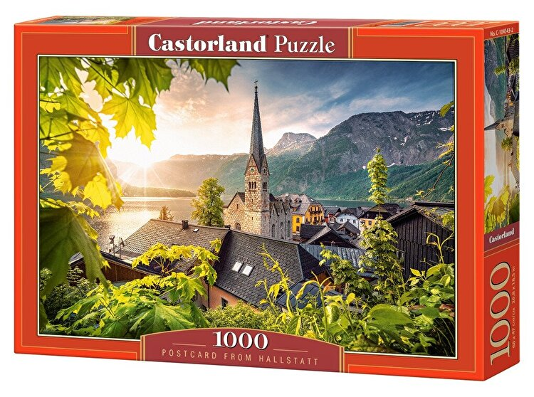 Puzzle Felicitare din Hallstatt, 1000 piese