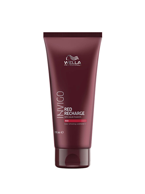 Balsam pigmentat pentru nuante reci de rosu Invigo Red Recharge Red, 200 ml, Wella Professionals