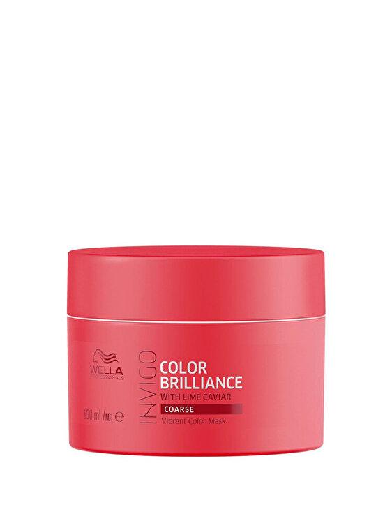 Masca pentru par vopsit Invigo Color Brilliance Coarse, 150 ml, Wella Professionals