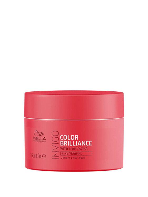 Masca pentru par vopsit Invigo Color Brilliance Fine-Normal, 150 ml, Wella Professionals