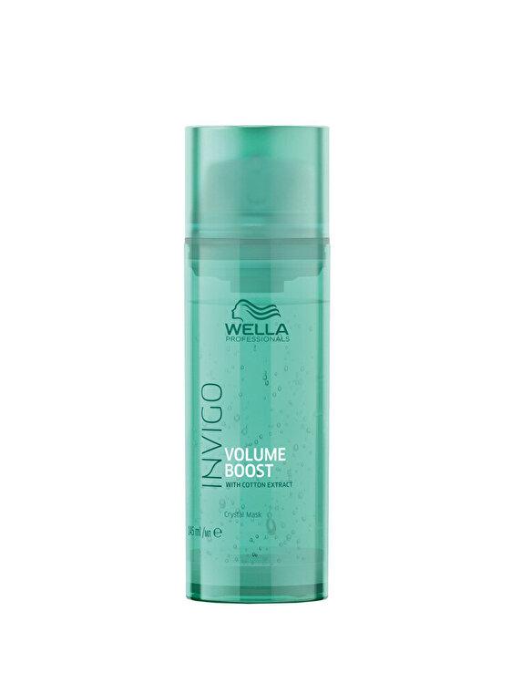 Tratament masca pentru par fin Wella Professionals INVIGO Volume Boost Crystal Mask, 145 ml