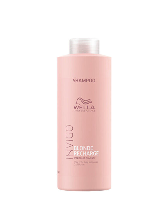 Sampon pentru improspatarea culorii Wella Professionals INVIGO Color Recharge Cool Blond, 1000 ml