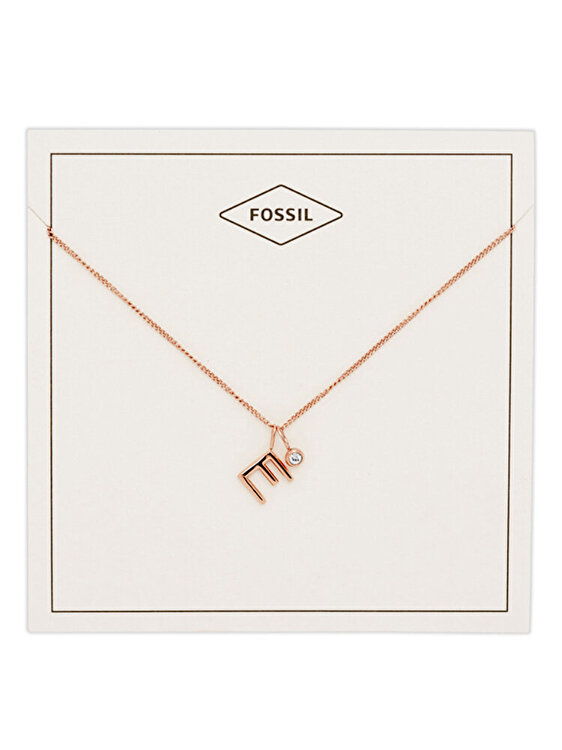 Colier si pandantiv Fossil Motifs JF03038791