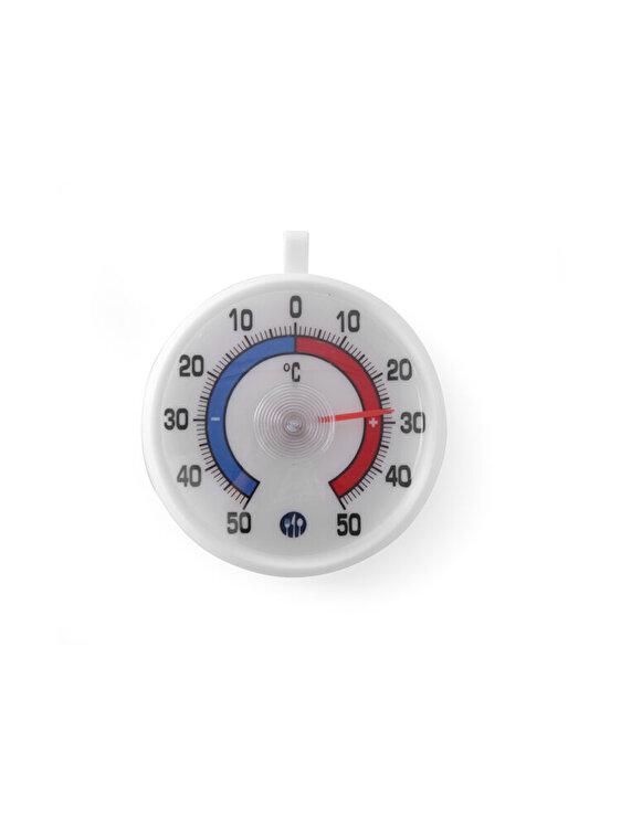 Termometru frigider, Hendi, -50 / +50 grade C, cu carlig agatare, 72 x 21 mm, 271124, Alb