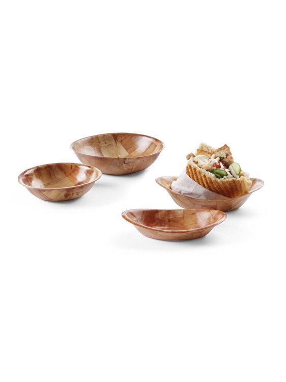 Cos pentru paine, Hendi, Pitta, 230 x 180 mm, 425602, Maro
