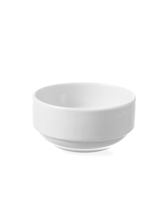 Bol salata / aperitiv / supa, Hendi, DELTA, suprapozabil, 14 cm, 799468, Alb