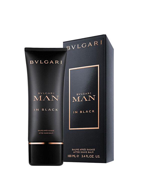 Lotiune after shave balsam Bvlgari Man in Black, 100 ml, Pentru Barbati