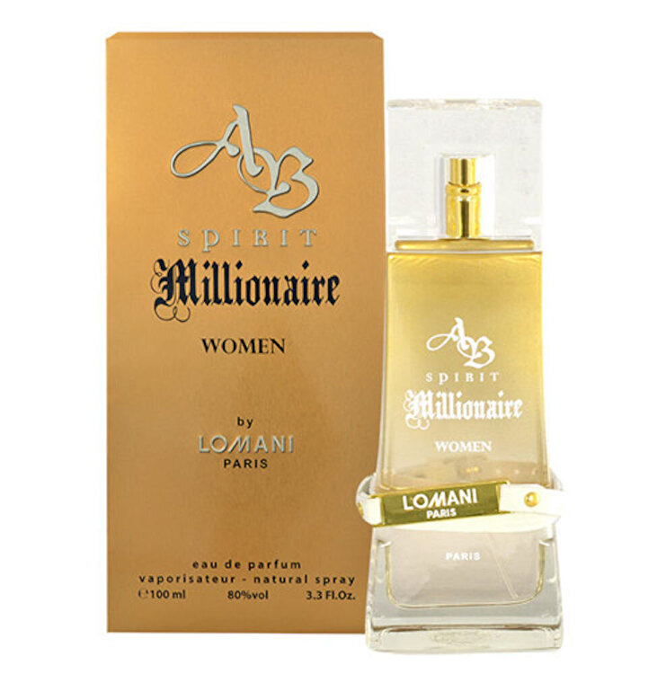 Apa de parfum AB Spirit Millionaire, 100 ml, Pentru Femei