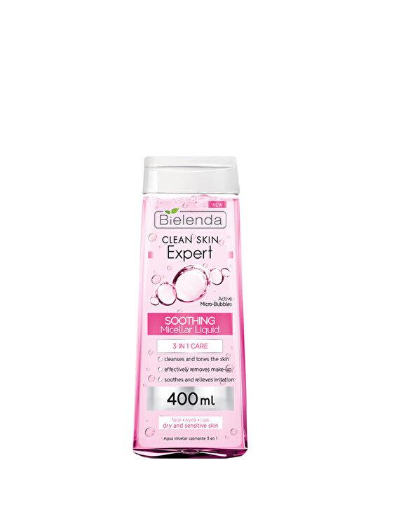 Apa micelara hidratanta 3 in 1 pentru curatarea tenului, 400 ml