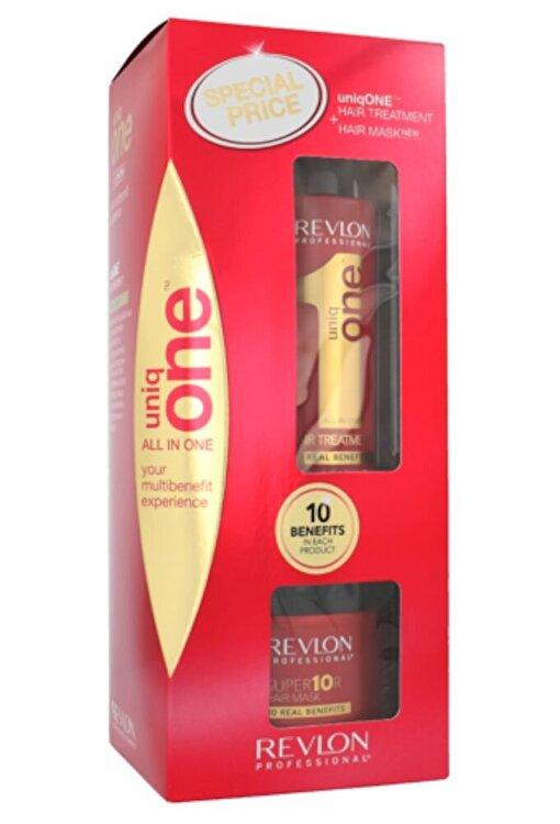Set Uniq One Duo Kit (150ml Uniq One + 300ml Masca de par Uniq One Superior), 450 ml