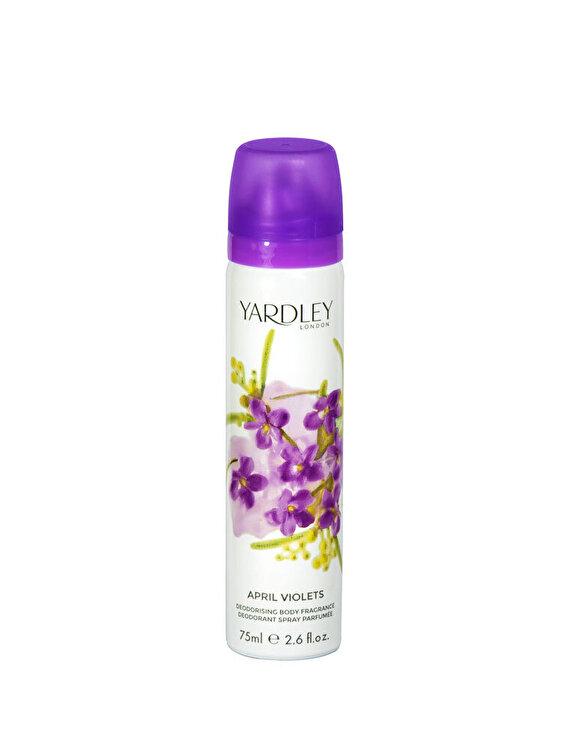 Deodorant April Violets, 75 ml, Pentru Femei