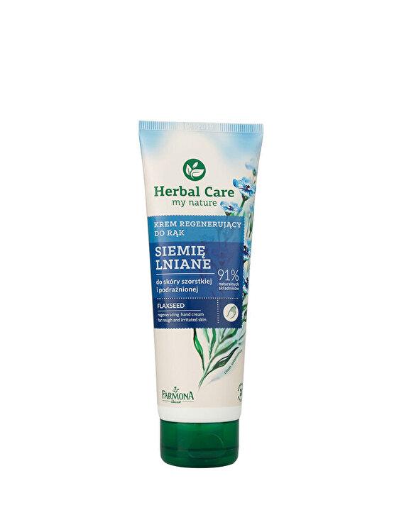 Crema regeneratoare pentru maini si unghii cu extract de seminte de In Herbal Care, 100 ml