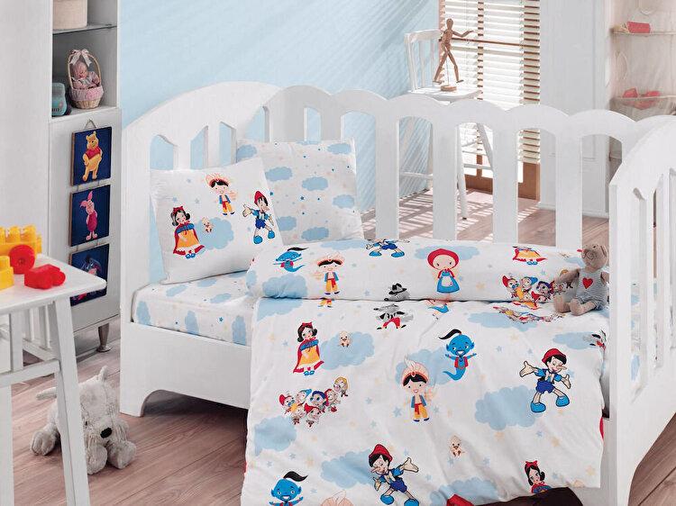 Lenjerie de pat pentru copii Cotton Box material: 100% bumbac 129CTN2073 120 x 150 cm