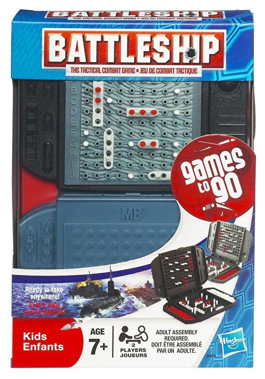 Hasbro Games - Joc Battleship, pentru calatorie -